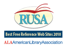 Reference and User Services Association - American Library Association - Best Free Reference Web Sites 2010
